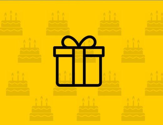 Pomysł na kampanię promującą sprzedaż prezentów urodzinowych.